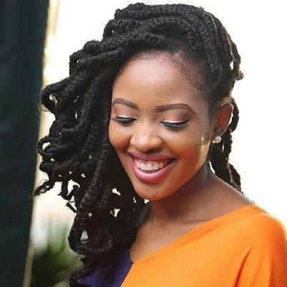 Gorgeous Kambua Manundu Is A Kenyan Gospel Musician She Is Giving Us Hair Inspiration With Her Beautiful Hair Inspiration Jumbo Box Braids Braided Hairstyles
