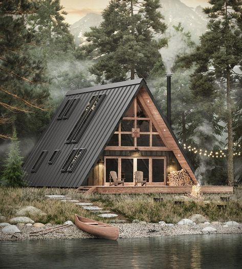 Ayfraym is a new creation by Everywhere Travel Co. These guys are notorious for their transportable homes but now they want to make it easier for you to build your own, selling you the plans to a neat 1,574-square-foot cabin. It uses a construction k