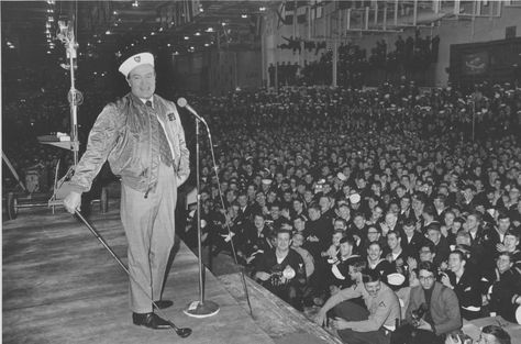 Image result for bob hope with the troops