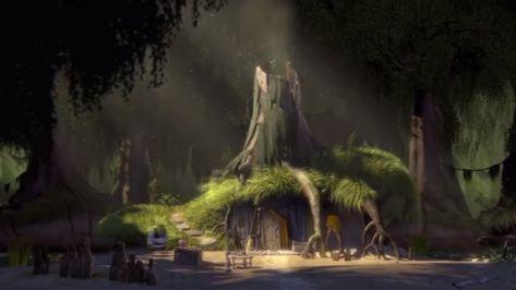 Shrek S Swamp Shrek Shrek Donkey Fairytale Creatures