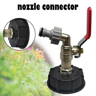 Ad Ebay Ibc Tote Tank Drain Adapter 1 2 Garden Hose Faucet Water Tank Hose Connector In 2020 Storage Tanks Brass Faucet Mini Vase