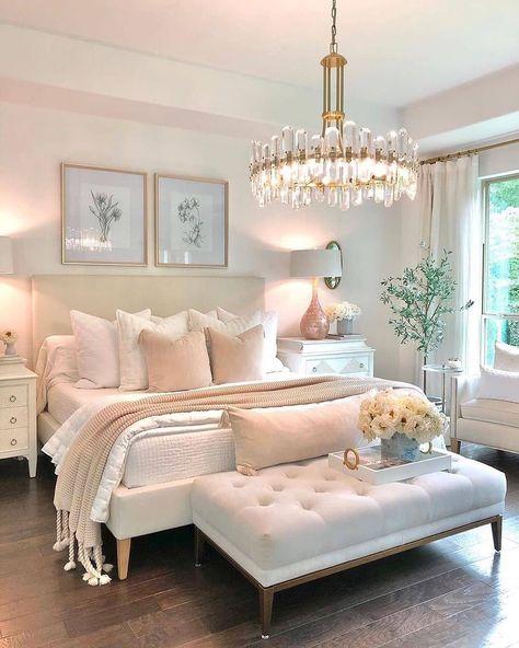 Pink Bedroom Decor, Room Ideas Bedroom, Home Bedroom, Girls Bedroom, Teen Girl Bedrooms, Master Bedroom, Pretty Bedroom, Aesthetic Bedroom, Luxurious Bedrooms