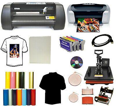 Ad Ebay Url 5in1 Heat Transfer Press 14 Laser Point Vinyl Plotter Printer Refil Vinyl Bundle Vinyl Cutter Vinyl Tshirts Printer
