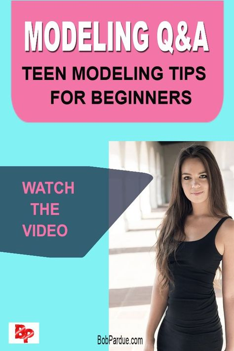New Bob Pardue Photography post:Teen model & actress Cosette Rinab giving modeling tips for beginners on her fun and informative video. Discover more about how to become a teen model with these professional beginner teen modeling tips. #cosetterinab #modelingtips #bobparduephotography