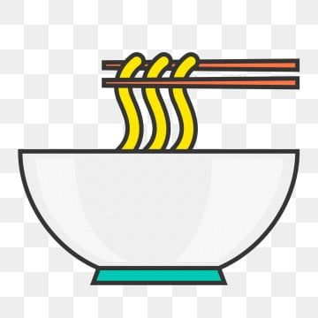 A Bowl Of Ramen Wheat Noodles Staple Food Hand Painted A Bowl Of Ramen Wheat Png And Vector With Transparent Background For Free Download Wheat Noodles Food Staples Ramen