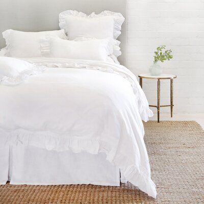 Pom Pom At Home Madison Cotton Duvet Cover Set Size King Color