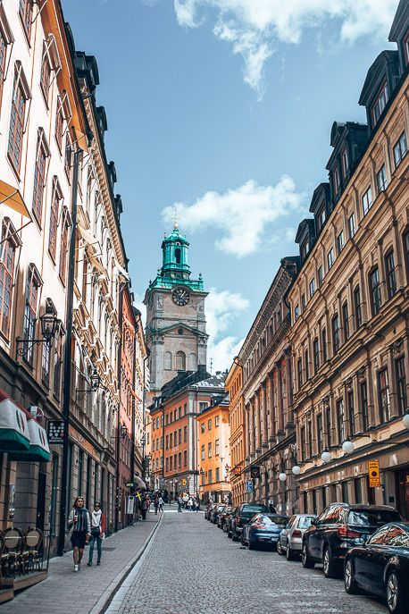 A Fantastic Stockholm Itinerary: 2 Days In The Swedish Capital Streets of Stockholm - Sweden Places To Travel, Places To See, Travel Destinations, Food Places, Sweden Cities, Europa Tour, Stockholm City, Stockholm Travel, Copenhagen Travel
