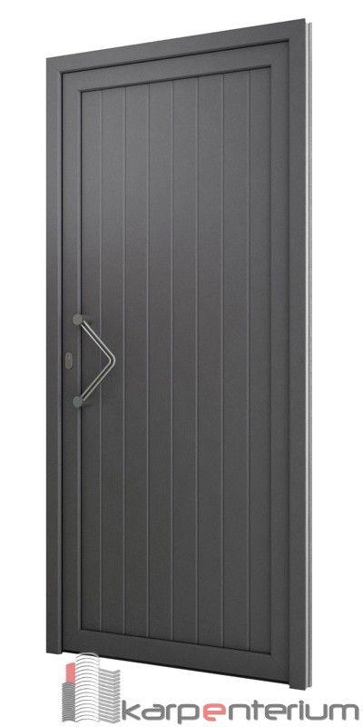 Puerta Moderna Av100 Puertas De Aluminio Exterior Modelos De Portones Metalicos Diseno De Puerta De Hierro