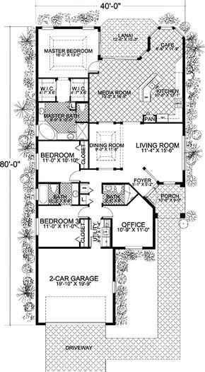 Plan 32172aa Perfect For The Narrow Lot In 2020 Narrow House Plans Garage House Plans Narrow Lot House
