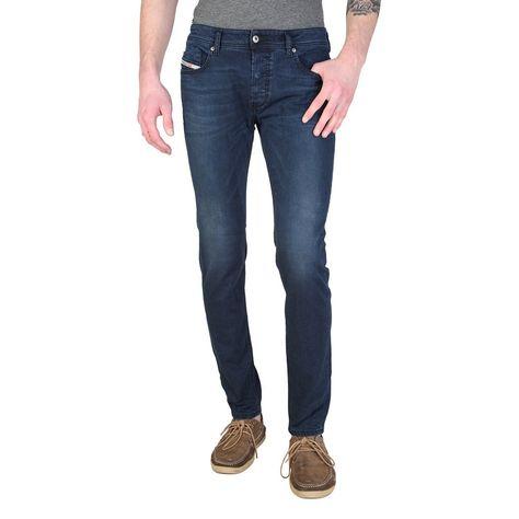 Diesel tepphar wash 0838d stretch men's jeans slim-carrot dark blue w36/l32  bnwt | Diesel