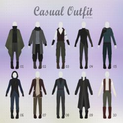 Open 1 10 Casual Outfit Adopts 29 Male By Rosariy Casual Art Fashion Design Drawings Drawing Clothes