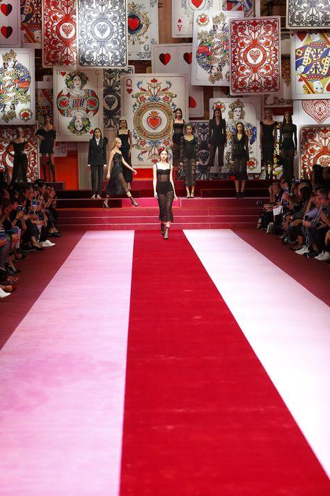 Le défilé Dolce & Gabbana printemps-été 2018 à Milan.
