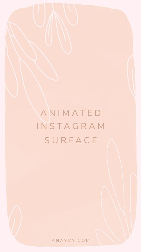 Romantic & Boho Animated Instagram Stories   social media design templates by ana & yvy