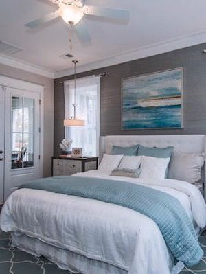 Beautifully Seaside Formerly Chic Coastal Living Beach Cottage Tour Cottage Style Bedrooms Coastal Cottage Decorating Beach House Bedroom
