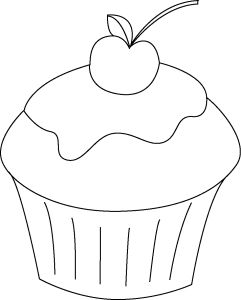 Cupcakes Cupcake Zeichnung Vorlagen Zum Ausmalen 11