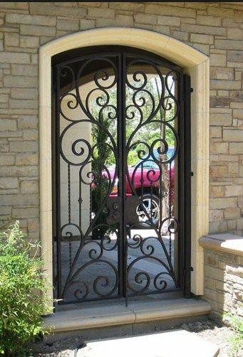 Elegant Driveway Gates Wrought Iron Gates Custom Driveway Gate Metal Gates Decor Entrance Contem Iron Gate Design Iron Front Door Wrought Iron Front Door