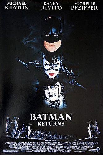 Batman Returns 1992 Original US One Sheet Movie Poster