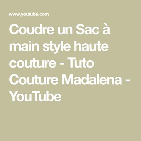 Madalena Sewing A Couture Tuto Towel Bag Youtube Beach clK1FJ