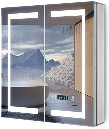 Badspiegelschrank Mit Licht Led Modell Dresden Von Spiegel21 Badezimmer Spiegelschrank Badezimmer Spiegelschrank Mit Beleuchtung Spiegelschrank