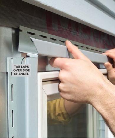 Install Vinyl Trim Around Windows Siding Installation