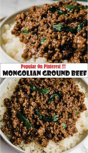 Mongolian Ground Beef Recipe Spesial Food Asian Ground Beef Recipes Ground Beef Recipes Healthy Beef Recipes
