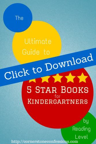 The Ultimate Guide to 5 Star Books for Kindergartners