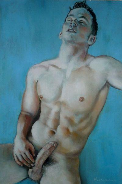 Cody Furguson, Nude Male, Artwork