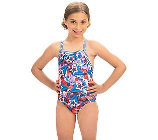 Little Girls Swim Suit Bathing Size 12 Months UPF 50 NWT Summer Beach Vacation