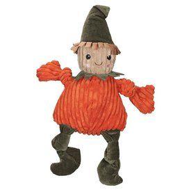 Hugglehounds Huggle Hounds Halloween Scarecrow Pete Knottie Small Food Animals Pet Brain Pet Toys