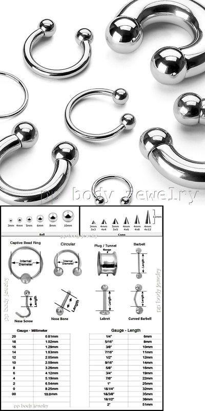 Body Piercing Jewelry 32050 2pcs 12g