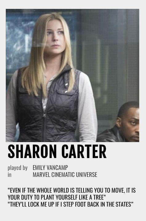 Sharon Carter Polaroid Poster