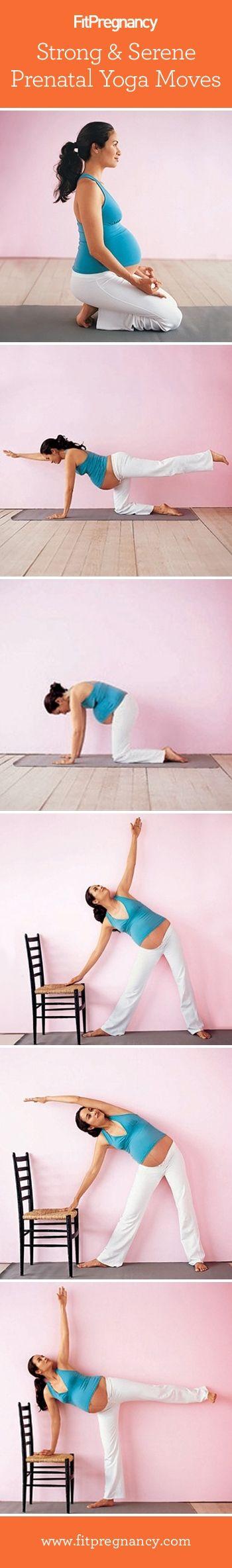 Yoga Moves Prenatal