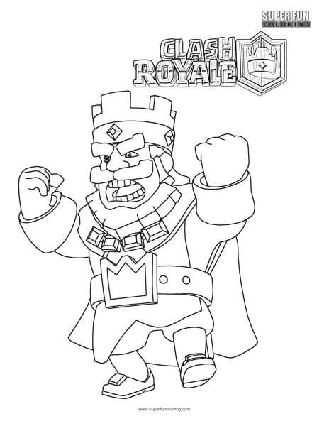 Clash Royale Coloring Page Cool Coloring Pages Coloring Pages Cartoon Coloring Pages