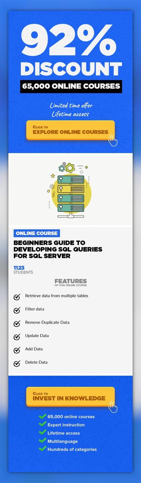 Learning sql server development on linux.