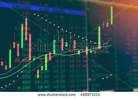 Display Of Stock Market Led Business Finance Background Stock Exchange Data Graph On Monitor Stock Market Exchange Chart Graph Oblozhka Banner Prezentaciya