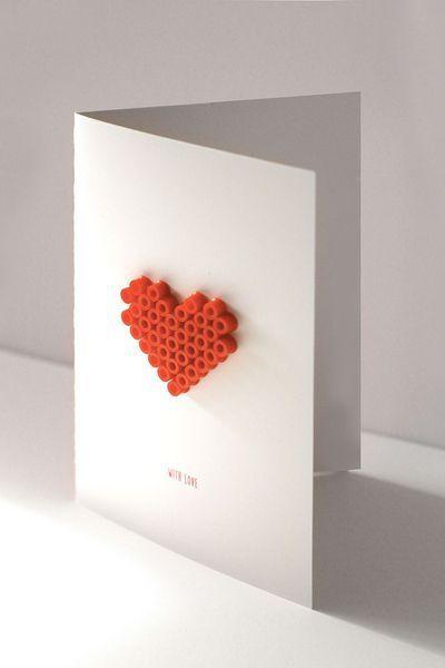 Carte De Saint Valentin 5 Diy Realises Avec Amour Carte Saint