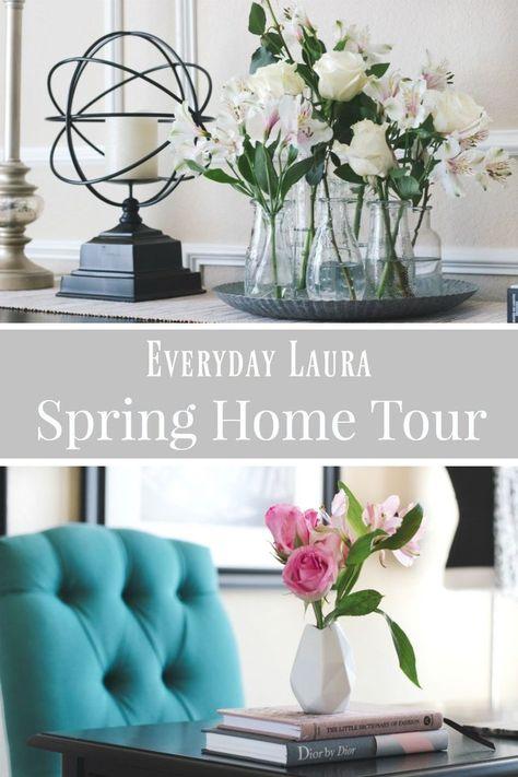 Spring Home Blog Tour 2018 Spring Decor Ideas Decorating With
