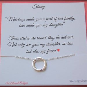 Gifts For Daughter From Mom Daughter Necklace To Daughter Etsy In 2021 Daughter In Law Gifts Daughter In Law Mother In Law Gifts
