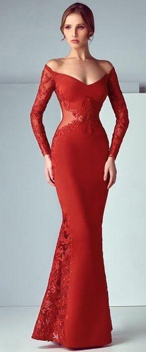 Pin De Gladys Paulino En Lady In Red En 2019 Vestidos