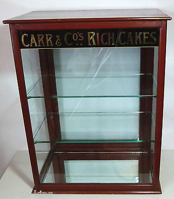 SUPERB CARRS CAKES ANTIQUE MAHOGANY SHOP DISPLAY CABINET C1905 | Mums Cake  House Shop Design | Pinterest | Display Cabinets, Display And Kitchen Ware