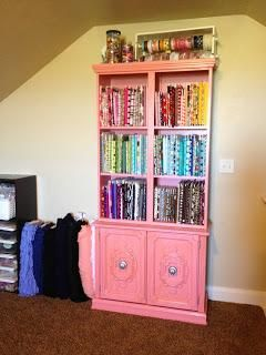 Use this tip on creating mini-fabric bolts to help organize your fabrics