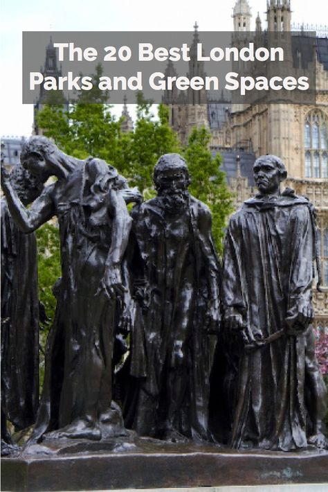 This sculpture is located in Victoria Tower Gardens, one of the best parks in London!
