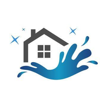 House Cleaning Logo Icon Design Vector Template Isolated In 2021 Cleaning Logo House Logo Design Home Logo