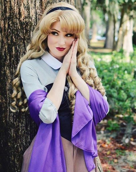 Sleeping Beauty Aurora Double Thick Parks Style Adult Costume Wig A True Enchantment Original