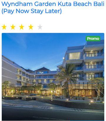 Pay Now Stay Later 2h1m Wyndham Garden Kuta Beach Bali Hotel 4 Star Validity Promo Immediately Until 30 Jun 2020 Or While Stock Last Di 2020 Legian Villa Pantai