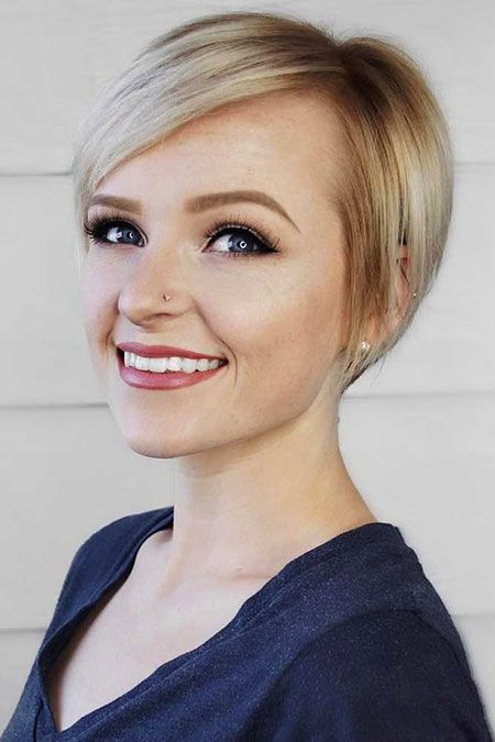 30 Cute Short Haircuts for Women (With images) | Short thin hair ...