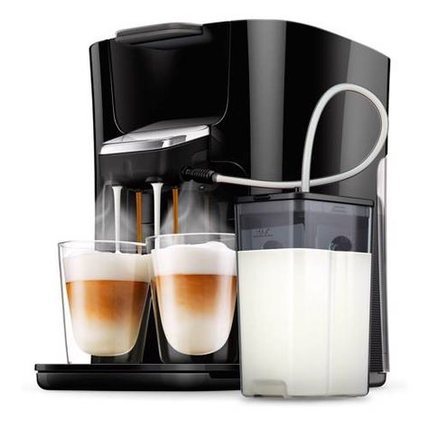 Senseo Latte Duo Plus Koffiezetapparaat Hd6570 60 Koffiezetapparaat Koffie Branding En Latte Macchiato