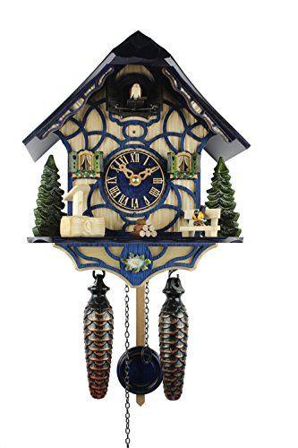 Herrzeit Quartz Cuckoo Clock Magic Blue Herrzeit By Ado Https Www Amazon Com Dp B01bwj74x8 Ref Cm Sw R Pi Dp U X Qokwdb4k8 Cuckoo Clock Clock Blue Magic