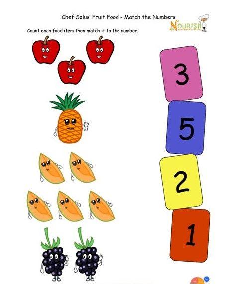 Matching Worksheets For Preschoolers Preschool Worksheets Matching Worksheets Worksheets For Kids Free online preschool counting games