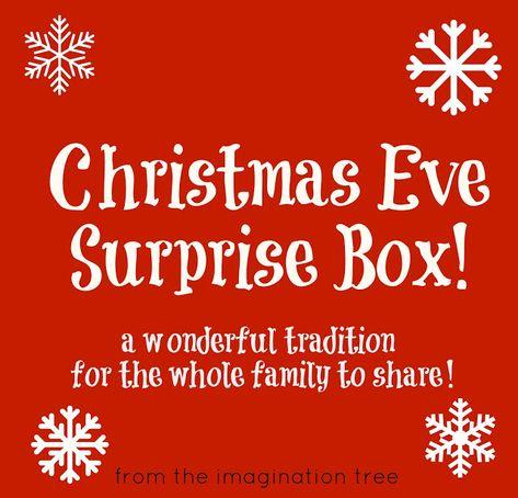 Christmas Eve Surprise Box! - The Imagination Tree